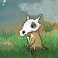 Drowsy Cubone by PatchLamb