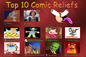 My Top 10 Favorite Comic Reliefs by K-dog0202