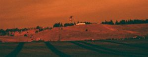 Lomography 50-200 redscale film by acollins973