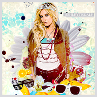 ashley tisdale 3 by funkyfreshfab
