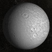 DIONE - SATURNS MOON by mr-nerb