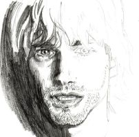 cobain unfinished.. by Asprine