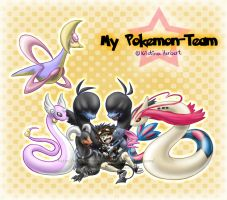 My Pokemon-Team by MoonyWings