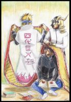 Bleach and Naruto 4 - Number 4 by tomboyish1dragon