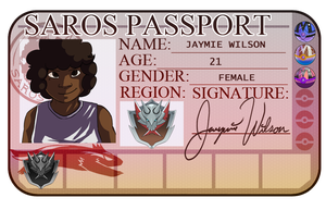 Jaymie Passport by Loaym