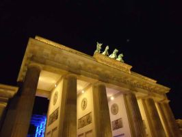 Brandenburger Tor at night by Arminius1871