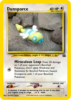 Fake Dunsparce Promo by icycatelf