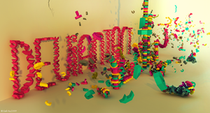 Deviantart Typography by Grafi-Ray