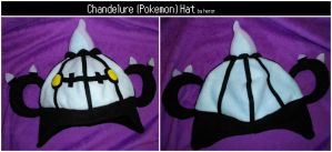 Chandelure Hat by SmileAndLead