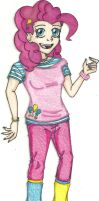 MLP Humans - Pinkie Pie by Jackie-Chaos-Bunny