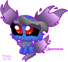 Chibi Spectreon by P4ND4-ST4R