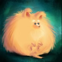 Fluffeh Puppeh by Jutchy