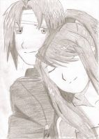 Ed and Winry 1 by fullmetaladdict1101