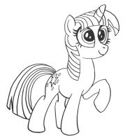 soon-to-be-vectored Twilight by AleximusPrime