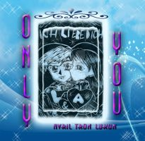 Lu Bread / Luke Skywalker and me CD cover by Avril-TRON-LuKon