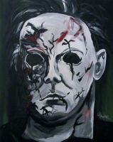 Michael Myers Rob Zombie version by AmandaPainter87