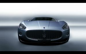 Maserati - front - by dejz0r