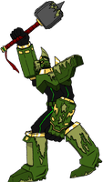 Moss Hammer by Omnimon1996
