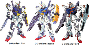 The D Gundam Team by DaiGuard78