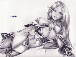 Dark elf by Quisit by Lineage2-Club