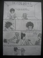 Death Note Comic by theLostOutcast