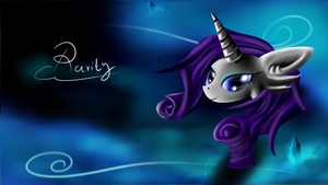 Rarity Wallpaper by CalebP1716
