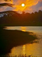 African sunset by Rufio1888