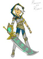 Game Tagged: Riven (League of Legends) by AskRamona