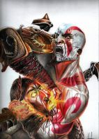 Kratos by MuhammedFeyyaz