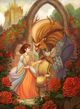 Beauty and the Beast by RebeccaSorge