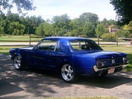 1965 Mustang in Ohio 3 by BackMasker