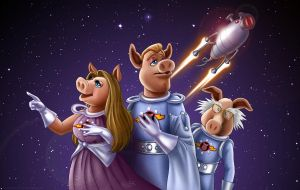 Pigs In Space by Sawuinhaff