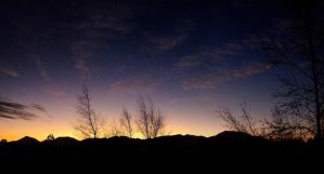 Sunset in Methven by mark-flammable
