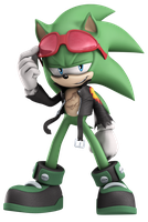 Official - Scourge the Hedgehog by Elesis-Knight
