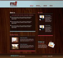 MDF Construction website by marame