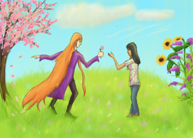 For you, my flower by 89000007ANL