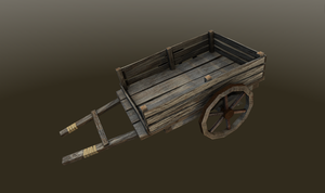 Wooden wagon by xelawebdev