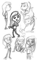 Preteen Girl design by tombancroft
