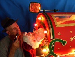 Iron Lung Santa and Me by Keith-McGuckin