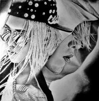G-Dragon - Drawing by diamondnura