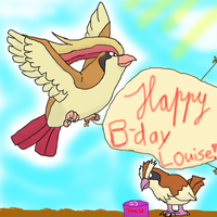 Happy B-day Louise! by WelpPwr
