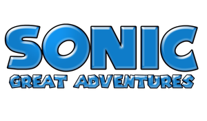 Sonic Great Adventures Logo by KingAsylus91
