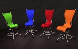 Simplicity Chairs Wallpaper by game-flea