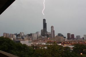 Lightning Strikes Twice 2 of 2 by TimothyHarris