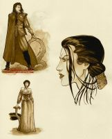 Lady Spy from the 18th Century by krukof2