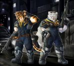 (Collab) Takemoto's cop outfit: Duo version by TigerLukke