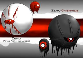 Override Series - Zero (Final Form Included) by Slayer-of-Eternity