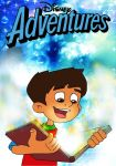 The Time Kids: Disney Adventures Poster by Gloverboy23