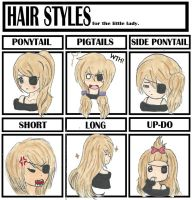 Hair Styles Meme by pinkumii