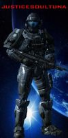 My Halo Reach Spartan by Antimatter-Radius